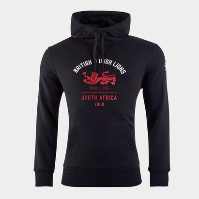 Canterbury British and Irish Lions Graphic Hoodie Mens
