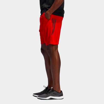 adidas 3 Stripe Training Shorts Mens