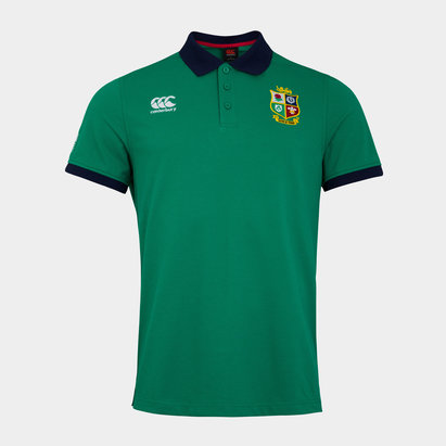 Canterbury British and Irish Lions Nations Polo Shirt Mens