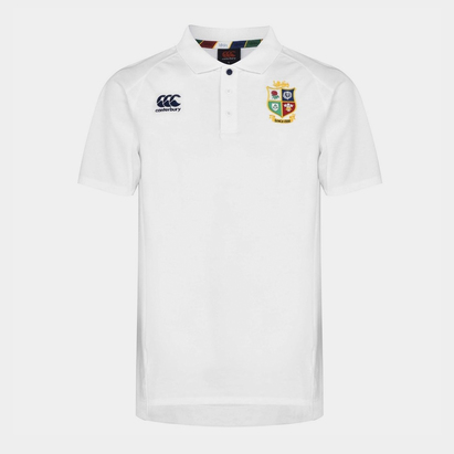 Canterbury British and Irish Lions Pique Polo Shirt Mens