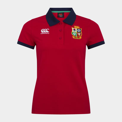 Canterbury British and Irish Lions Polo Shirt Ladies