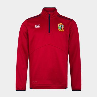 Canterbury British and Irish Lions Quarter Zip Fleece Mens