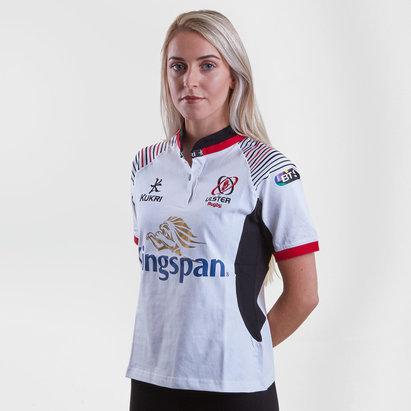 Kukri Ulster 2017/18 - Maillot de Rugby Réplique Domicile en Coton Femmes