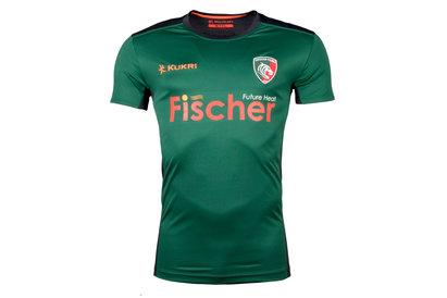 Kukri Leicester Tigers 2017/18 - T-Shirt Entraînement de Rugby Joueurs