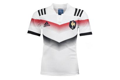 adidas France 2017/18 - Maillot de Rugby Réplique Alterné Enfants