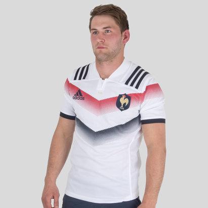 adidas France 2017/18 - Maillot de Rugby Réplique Alterné
