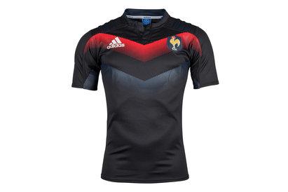 adidas France 2017/18 - Maillot Entraînement de Rugby Joueurs