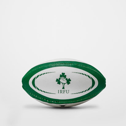 Gilbert Irelande - Mini Ballon de Rugby Réplique Officielle
