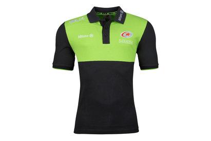 Bath 2016/17 - Polo de Rugby Média Rayé Joueurs - Gris - taille 4XL UMKouYH