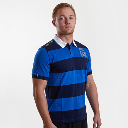 Macron Italie 2017/18 - Maillot de Rugby Coton Supporters