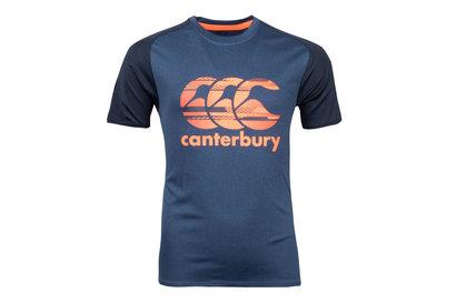 Canterbury - T-Shirt Entraînement de Rugby Super léger Poly Enfants