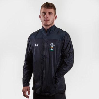 Under Armour Wales WRU 2017/18 - Veste Voyage de Rugby Joueurs