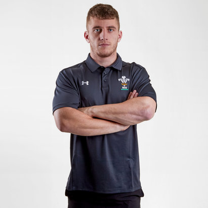 Under Armour Pays De Galles WRU 2017/19 - Polo de Rugby Joueurs