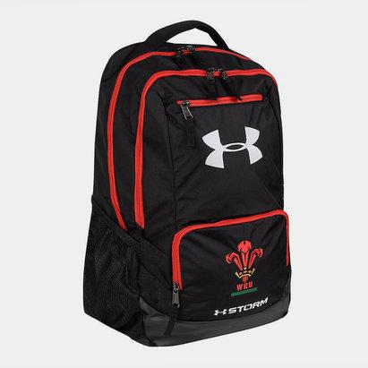 Under Armour Pays de Galles WRU 2017/19 - Sac à Dos de Rugby Joueurs