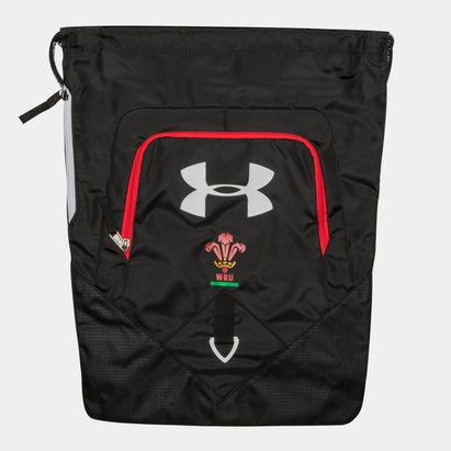 Under Armour Pays de Galles WRU 2017/18 - Sac Undeniable de Rugby Gym