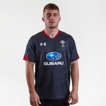 Under Armour Pays de Galles WRU 2017/18 - Maillot de Rugby Réplique Alterné