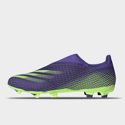 adidas X Ghosted .3 Laceless FG Football Boots Mens