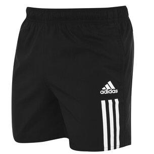 adidas 3 Stripe Swim Shorts Mens