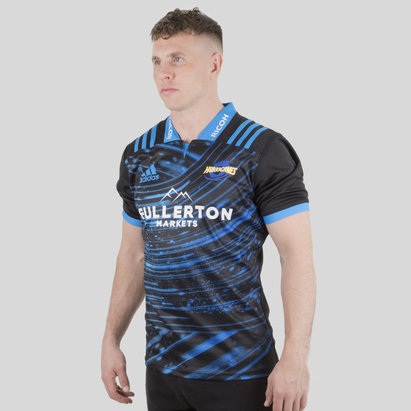 adidas Hurricanes 2018 - Maillot Entraînement de Super Rugby