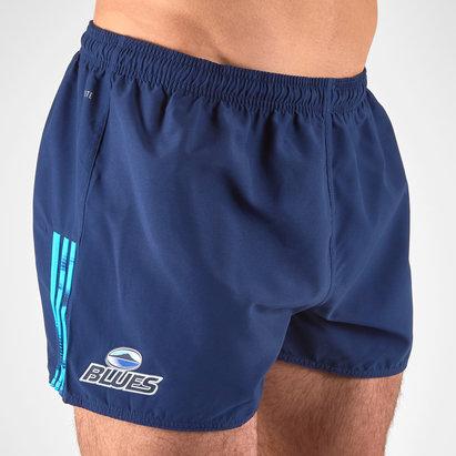 adidas Blues 2018 - Short de Super Rugby Domicile Joueurs