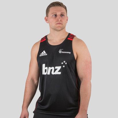 adidas Crusaders 2018 - Débardeur Entraînement de Super Rugby Joueurs
