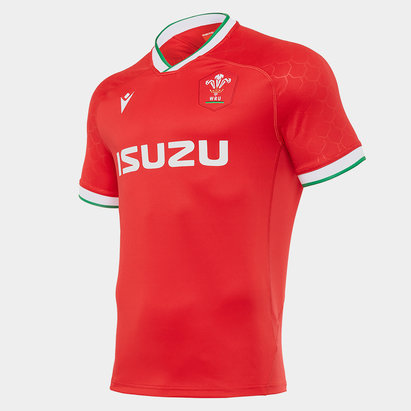 Macron Wales Home Shirt 2020 2021