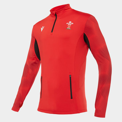 Macron Wales Quarter Zip Jacket Mens