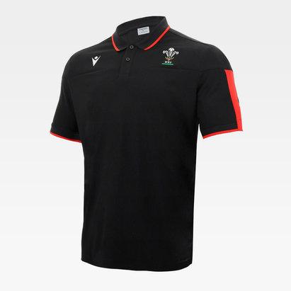 Macron Wales Polo Shirt Mens