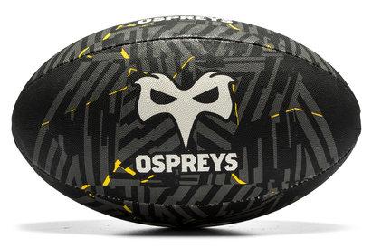 Ballon de Rugby Euro Supporters Ospreys