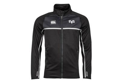 Canterbury Ospreys 2017/18 - Polaire de Rugby Zippée Couche thermique