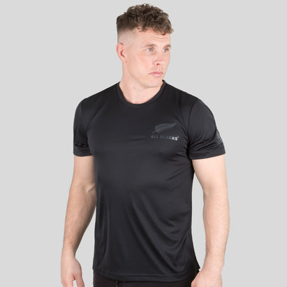 adidas Nlle Zélande All Blacks 2018 - T-Shirt Performance Joueurs