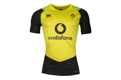 Canterbury Irlande IRFU 2017/18 - T-Shirt Entraînement de Rugby Superlight Poly