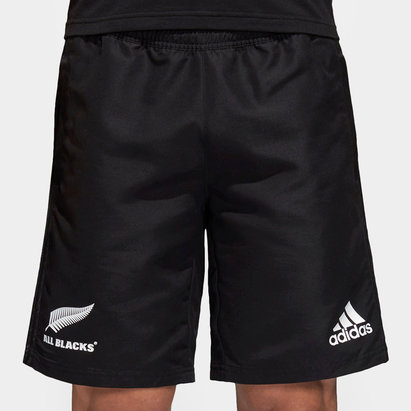 adidas Nlle Zélande All Blacks 2018 - Short de Rugby Tissé