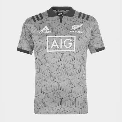 adidas Nlle Zélande All Blacks 2018 - Maillot Entraînement Joueurs