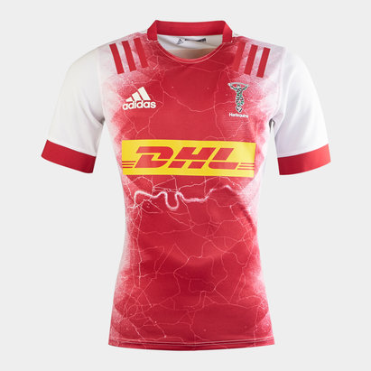 adidas Harlequins 2020/22 Kids Away S/S Replica Shirt