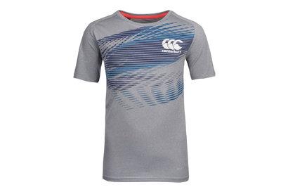 Canterbury Vapodri+ - T-Shirt Poly Graphique Enfants