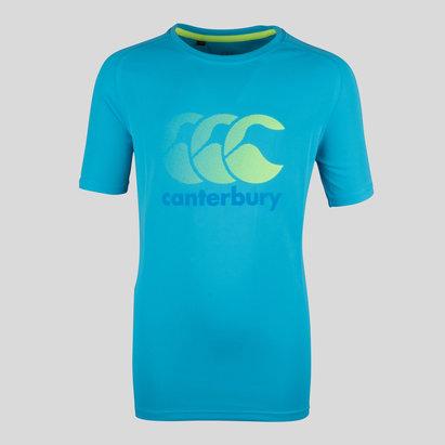 Canterbury Vapodri Enfants - T-Shirt Poly Logo