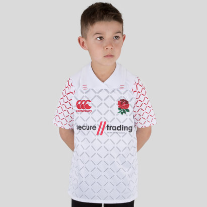 Canterbury Angleterre 7s 2018/19 - Maillot de Rugby Pro Domicile Enfants