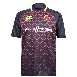 Canterbury Angleterre 7s 2018/19 - Maillot de Rugby Pro Alterné