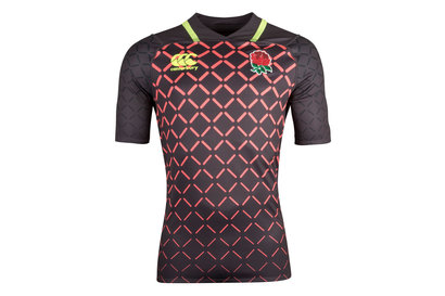 Canterbury Angleterre 7s 2018/19 - Maillot de Rugby Pro Alterné Adolescents