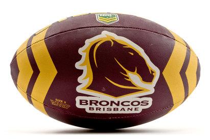 Steeden Brisbane Broncos 2018 NRL - Ballon de Rugby à 13