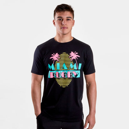 Rugby Division T-Shirt de Rugby Graphique Miami