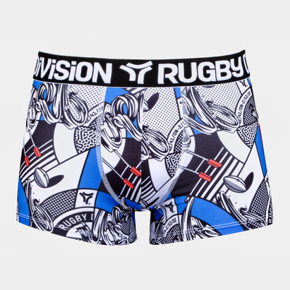 Rugby Division Bankster Graphique - Short Boxer