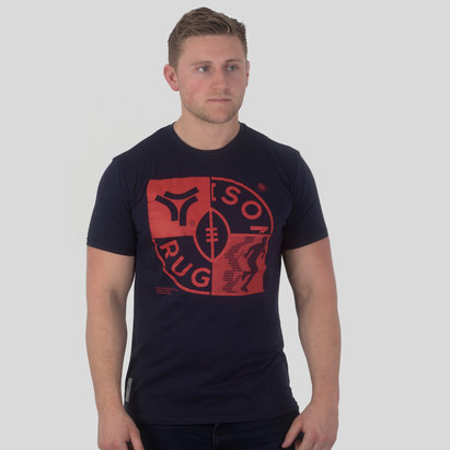 Rugby Division Check Graphic - T-Shirt de Rugby