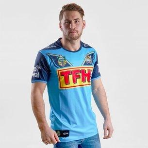 Classic Sportswear Gold Coast Titans 2018 NRL - Maillot de Rugby Domicile