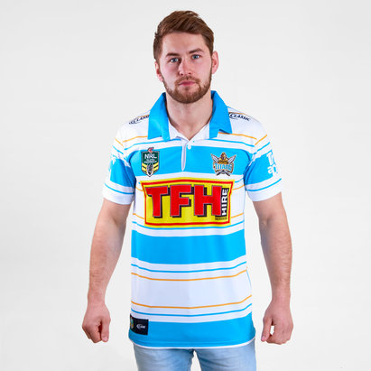 Classic Sportswear Gold Coast Titans 2018 NRL - Maillot de Rugby Héritage