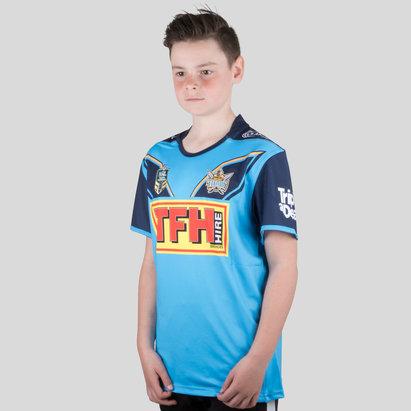 Classic Sportswear Gold Coast Titans 2018 NRL - Maillot de Rugby Domicile Enfants