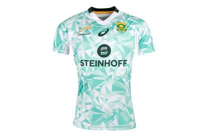 Asics Afrique du Sud BlitzBokke 7s 2017/18 - Maillot de Rugby Supporters Alterné