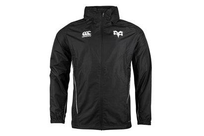 Canterbury Ospreys 2017/18 - Veste de Rugby Imperméable Zippée