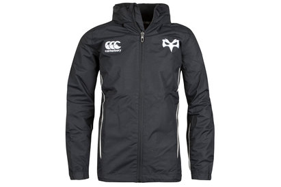 Canterbury Ospreys 2017/18 Enfants - Veste de Rugby Imperméable Zippée